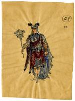 Mistick Krewe of Comus 1910 costume 28