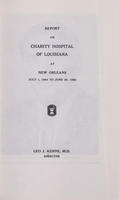 Charity Hospital Report 1964-1965