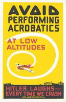 Avoid Performing Acrobatics at Low Altitudes