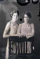 Mrs. Frank Brown and Mrs. Claiborne Perrilliat