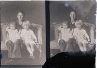 Lehr, Mrs. and two children