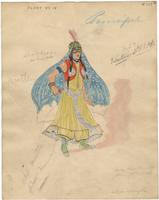 Mistick Krewe of Comus 1927 costume 113