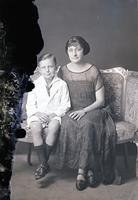 Neugass, Mrs. And son