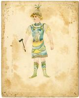 Mistick Krewe of Comus 1894 costume 98