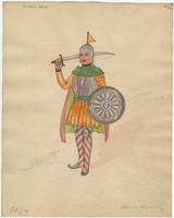 Mistick Krewe of Comus 1927 costume 22
