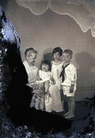 Unidentified-Group (female and three children-one male and two females) 457