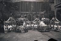 Unidentified-Group (costumed females) 2-462