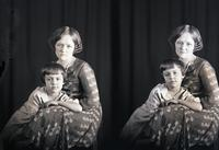 Unidentified-Group (mother and daughter) 474