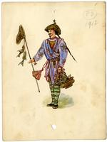 Mistick Krewe of Comus 1912 costume 83