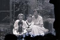 Williams, Mrs. George with George and  Adele