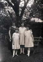 Wilson, Mrs. and three daughters