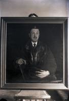 Unidentified painting of a gentlemen maybe by Wayman Adams (1)  715