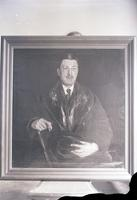 Unidentified painting of a gentlemen maybe by Wayman Adams (2)  715