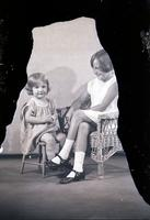 Unidentified - Child (two females)  688