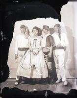 Unidentified - Group (costumed couples)  4 - 695