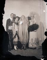Unidentified - Group (costumed couples)  7 - 695