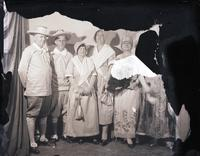 Unidentified - Group (costumed couples)  8 - 695