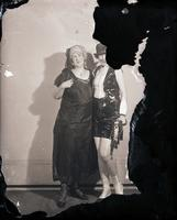 Unidentified - Group (two costumed females)  16 - 695