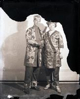 Unidentified - Group (costumed couple)  19 - 695