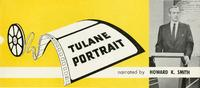 Tulane Portrait Flyer - 1959
