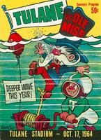 Tulane University Football Souvenir Program- Tulane Vs. Ole Miss