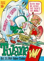 Tulane University Football Souvenir Program- Tulane vs. VMI