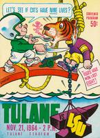 Tulane University Football Souvenir Program- Tulane vs. LSU