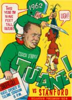 Tulane University Football Souvenir Program-Tulane vs. Stanford