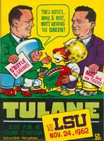 Tulane University Football Souvenir Program-Tulane vs. LSU