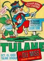 Tulane University Football Souvenir Program-Tulane vs. Ole Miss