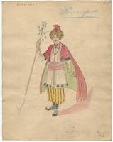 Mistick Krewe of Comus 1927 costume 76
