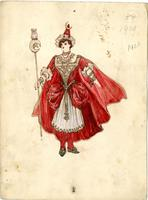 Mistick Krewe of Comus 1924 costume 84 a
