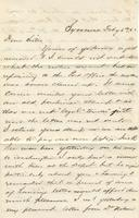 Letter to dear sister, 1862 February 6 and February 18