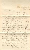 Letter to Elizabeth, 1862 September 24