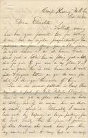 Letter to Elizabeth, 1862 October 12