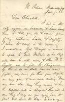 Letter to Elizabeth, 1863 January 7