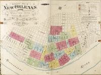 Insurance Map of New Orleans, Louisiana, Volume One, Sanborn Map and Publishing Limited Co., 117 Broadway, New York, April 1876