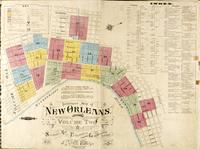 Insurance Map of New Orleans, Louisiana, Volume Two, Sanborn Map and Publishing Limited Co., 117 Broadway, New York, April 1876