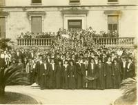 Newcomb College students,  1914