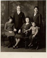 Rev. D.A. Goldian and family