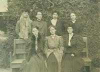 Newcomb students, 1906