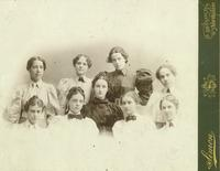 Newcomb Students, 1896