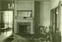 Newcomb College Doris Hall interior, 1930