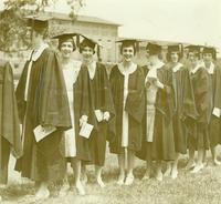 Newcomb College Graduation, 1929