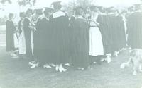 Newcomb College Graduation, 1921