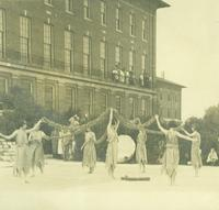 Newcomb College, May Day performance, 1920