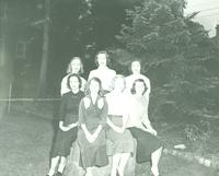Newcomb College, Homecoming Court, 1950