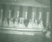 Newcomb College Homecoming Court, 1953
