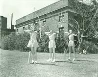 Newcomb College Archery, 1950