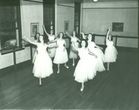 Newcomb College Dance Club, 1948
